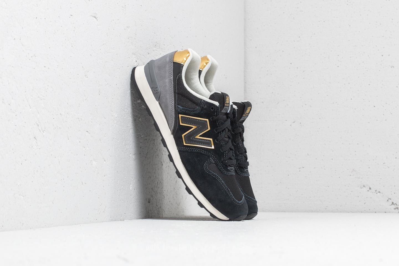 New Balance 996 Black/ Gold/ Grey | Footshop