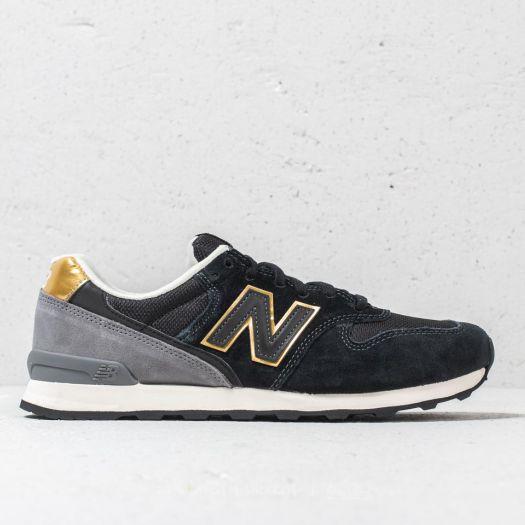 quality design 8c605 c3342 New Balance 996 Black/ Gold/ Grey | Footshop
