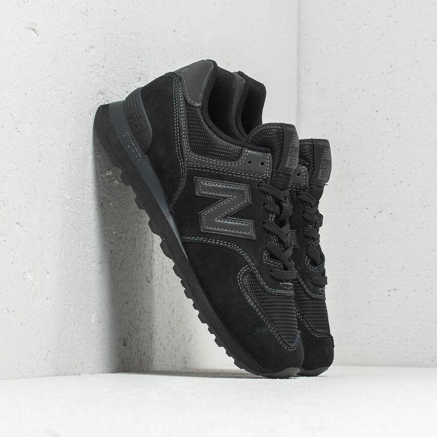 New Balance 574 Black/ Black EUR 44