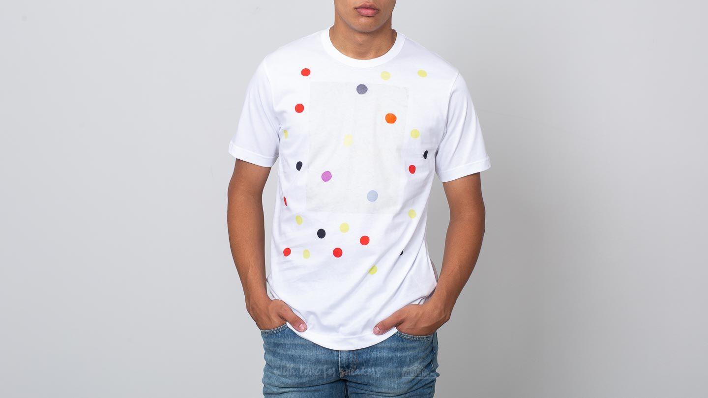 Comme des Garçons SHIRT S26115 White/ Multicolor
