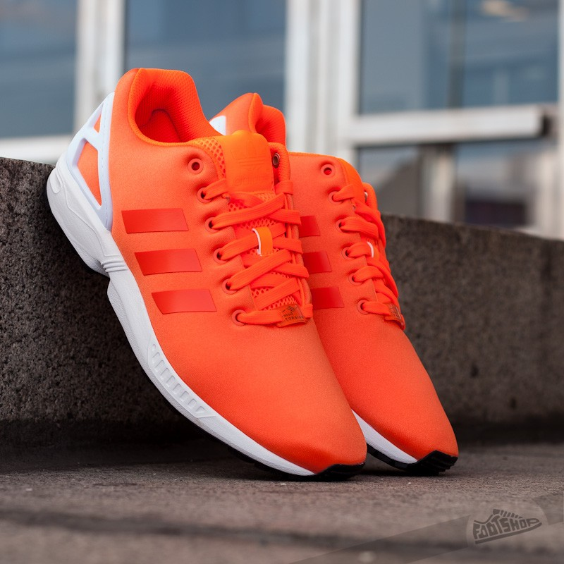 adidas ZX FLUX Orange | Footshop