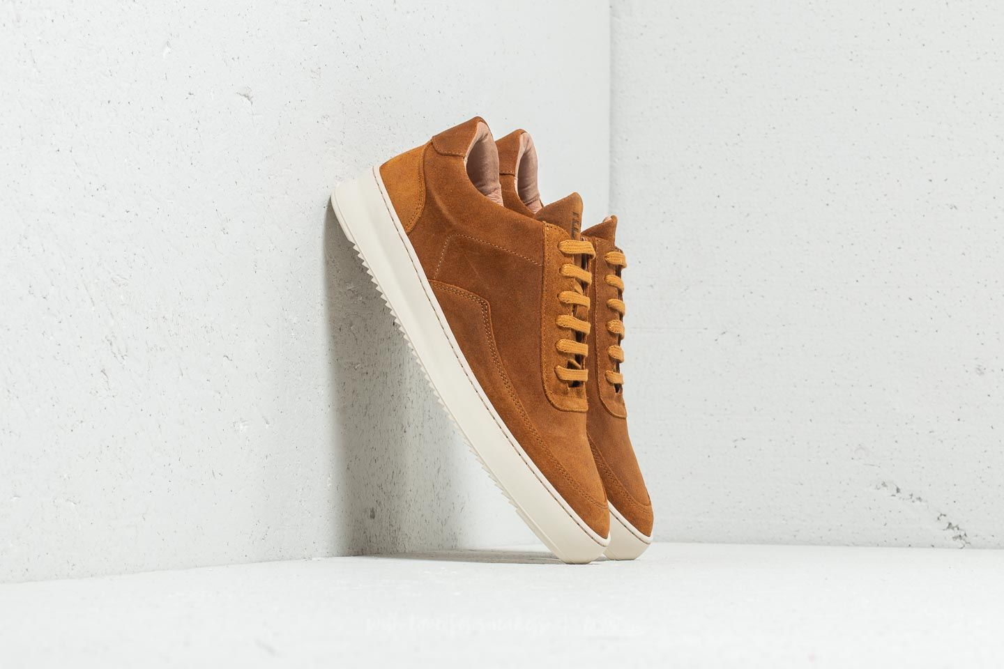 Filling Pieces Low Mondo Ripple Nardo Suede