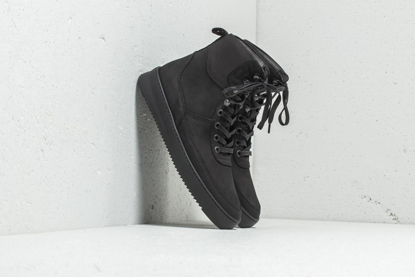 Filling Pieces Classic Boot Ripple Andes Evora Black