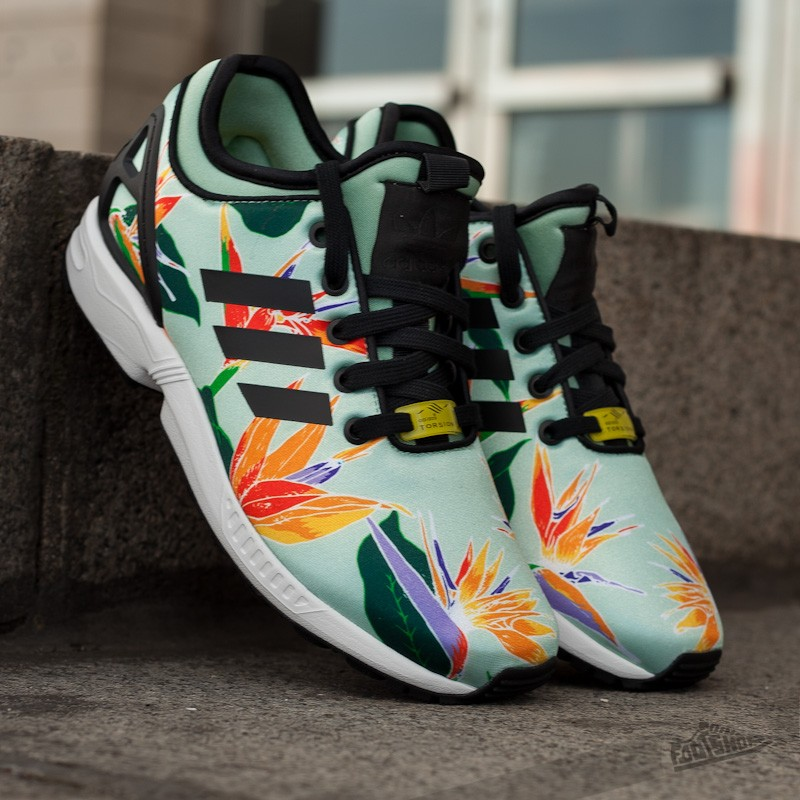 205202aefeb40 adidas ZX FLUX NPS Blush Green/Core Black | Footshop
