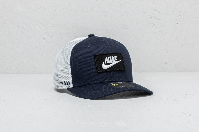 Nike Sportswear Clc99 Cap Trucker Obsidian  White  adca78d48bc
