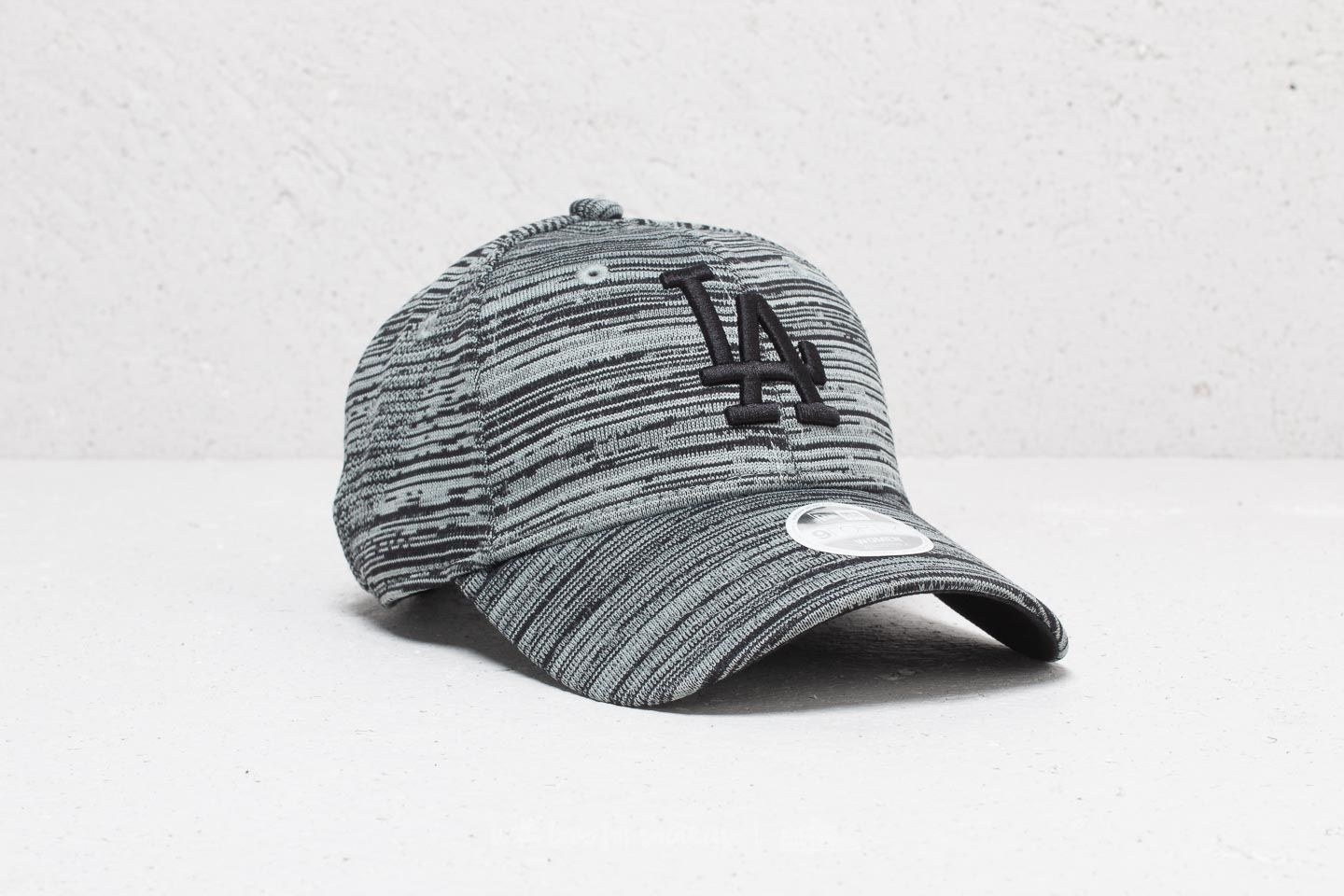 ab950501 New Era 9Forty MLB Los Angeles Dodgers Cap Grey/ Black | Footshop