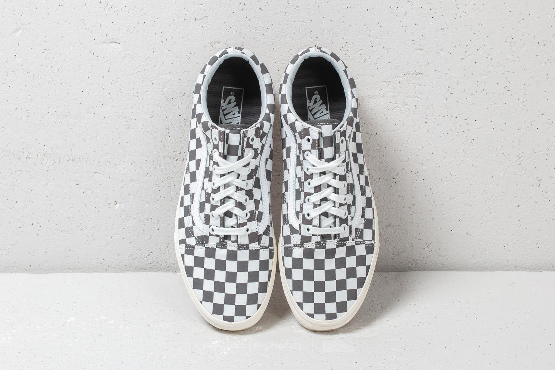 Vans Old Skool (Checkerboard) Pewter Marshmallow | Footshop