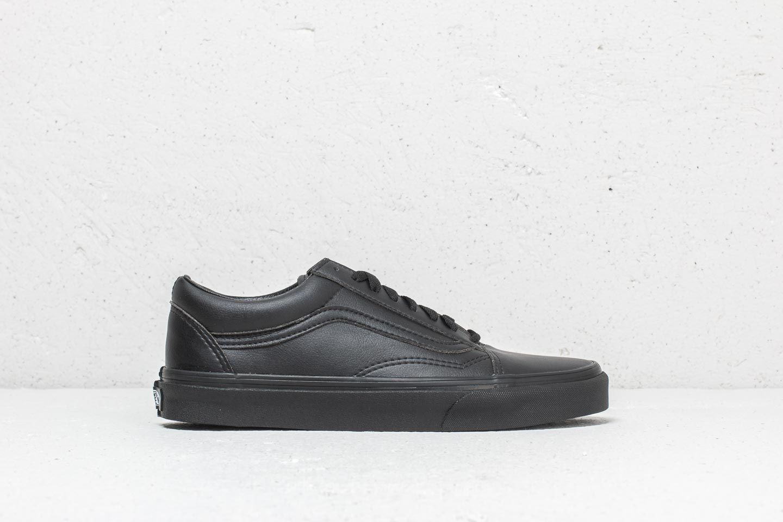 Vans Old Skool (Classic Tumble) Black Mono | Footshop