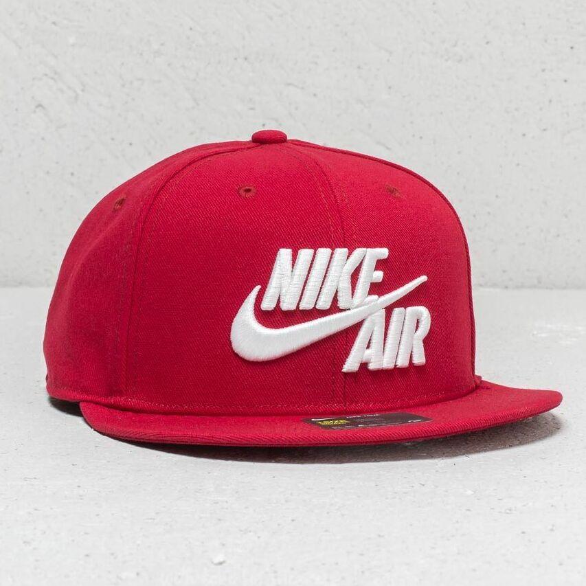 Nike Sportswear Air Classic True Cap Red /White Univerzálna veľkosť