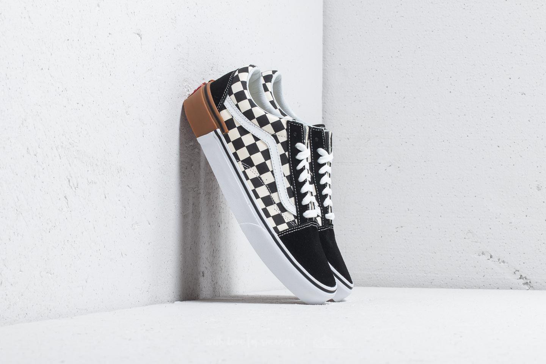 8e11573c74254e Vans Old Skool (Gum Block) Checkerboard
