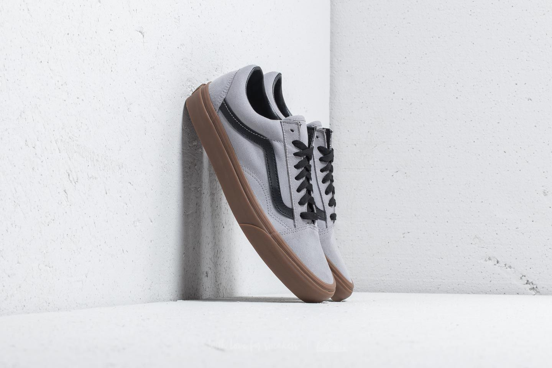 Vans Old Skool Gum Outsole Alloy Black   Footshop