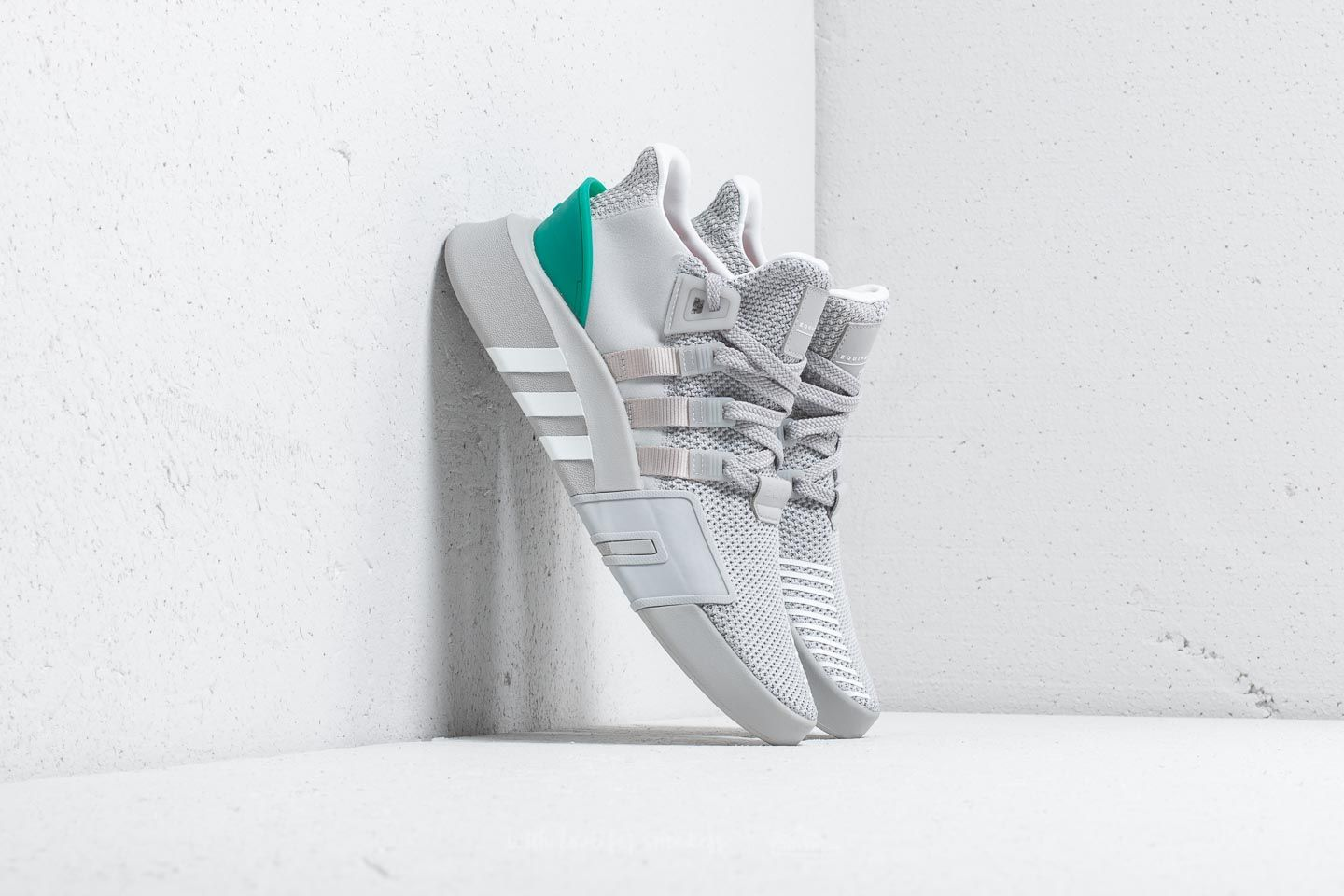 brand new 8c084 f0b1b adidas EQT Bask ADV Grey Two/ Ftw White/ Sub Green | Footshop