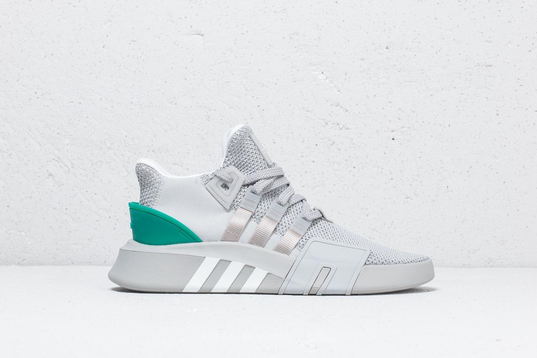 adidas EQT Bask ADV Grey Two Ftw White Sub Green   Footshop