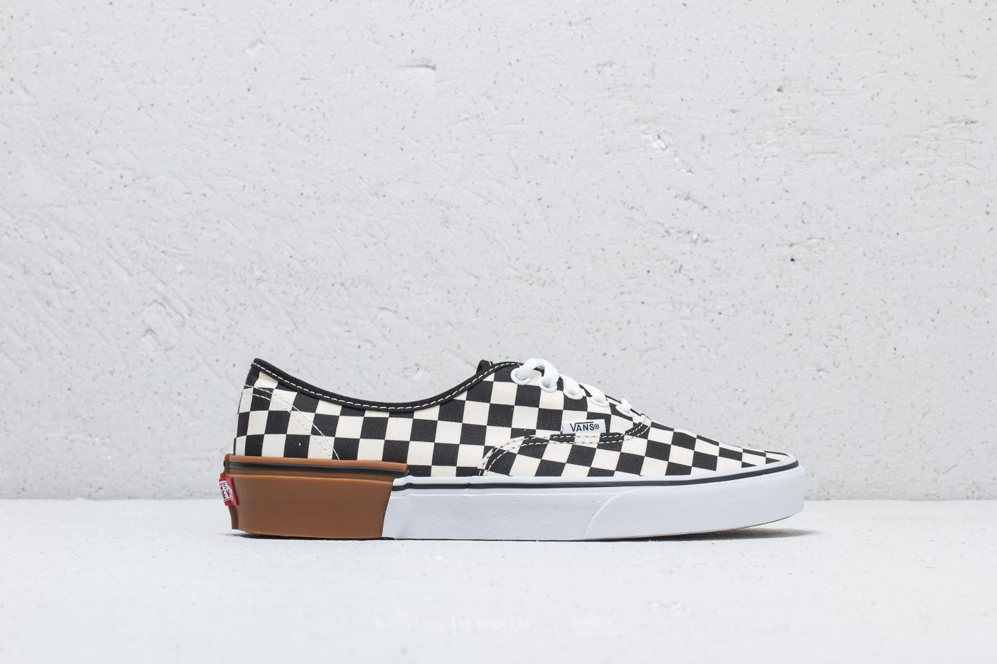Vans Authentic (Gum Block) Checkerboard | Footshop