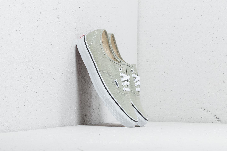 c4311b6455861 Vans Authentic Desert Sage/ True White | Footshop