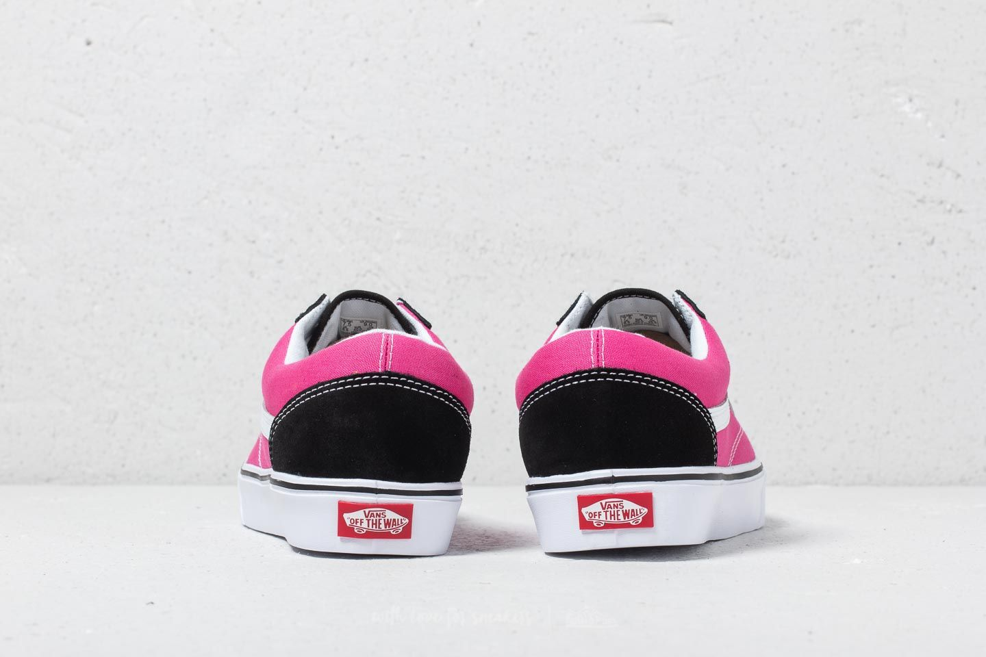 Vans Old Skool Lite (2 Tone) Black Magenta | Footshop