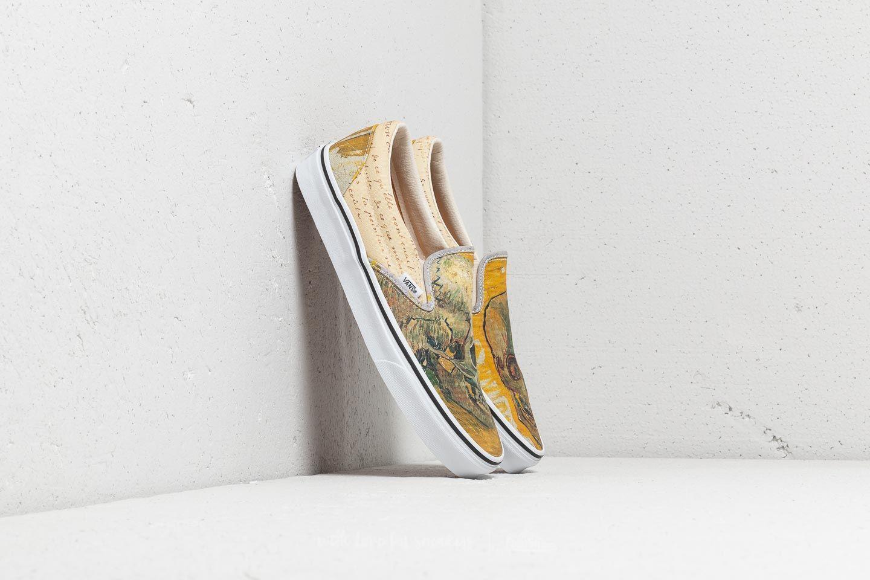 Vans Classic Slip-On (Vincent van Gogh) Skull/ Letters | Footshop
