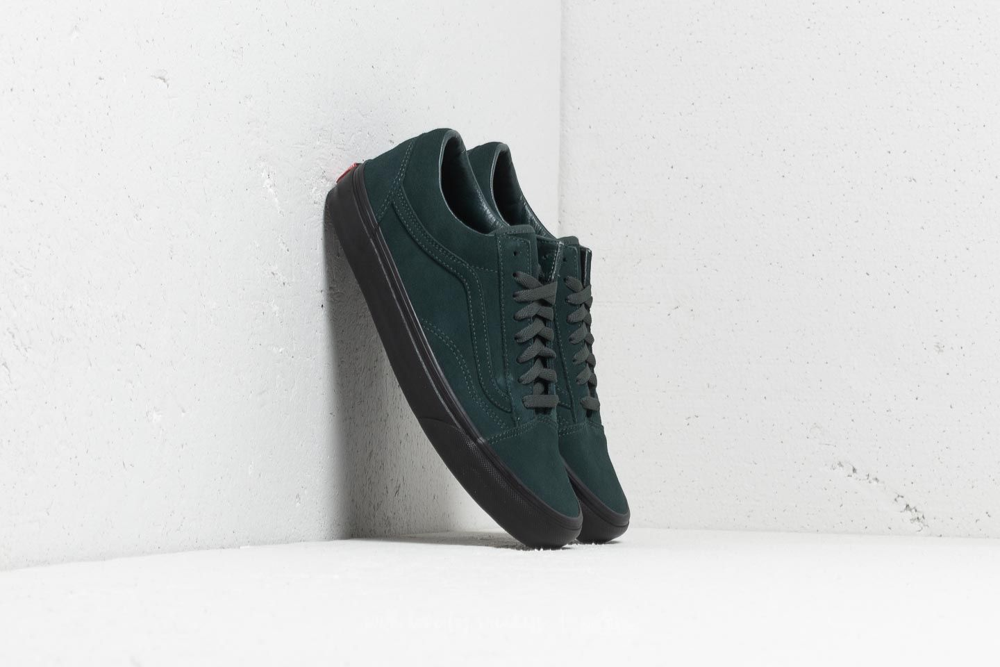 05548f0eeb7 Vans Old Skool (Black Outsole) Darkest Spruce  Black