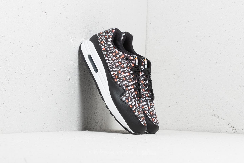 34797d600ee8 Nike Air Max 1 Premium Black  White-Total Orange at a great price 139