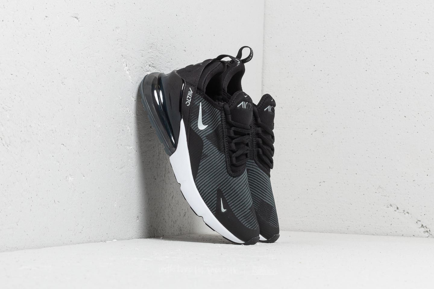 new concept 72663 541b7 Nike Air Max 270 Jacquard (GS) Black/ Wolf Grey-Dark Grey ...
