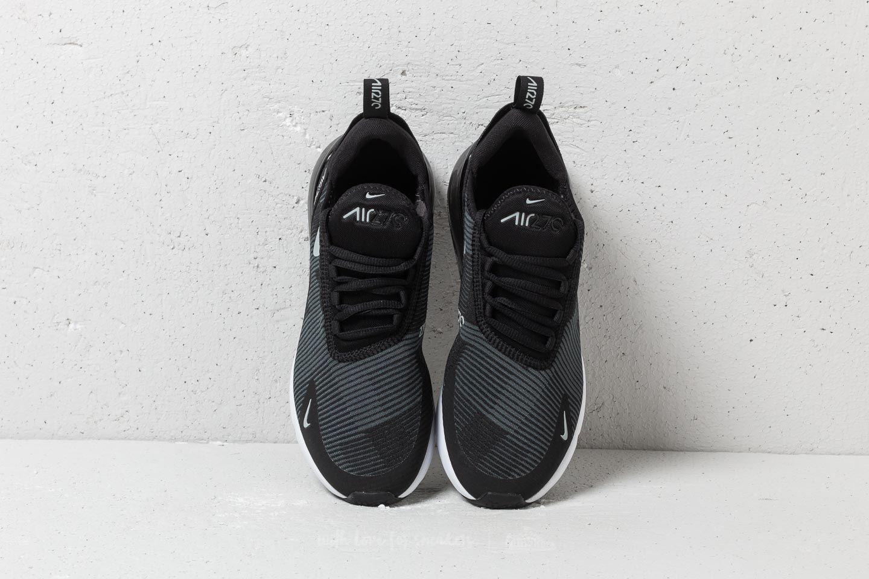 Nike Air Max 270 Jacquard (GS) Black Wolf Grey Dark Grey   Footshop