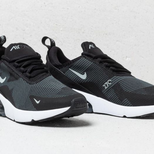 Nike Air Max 270 Jacquard (GS)Black Wolf Grey Dark Grey