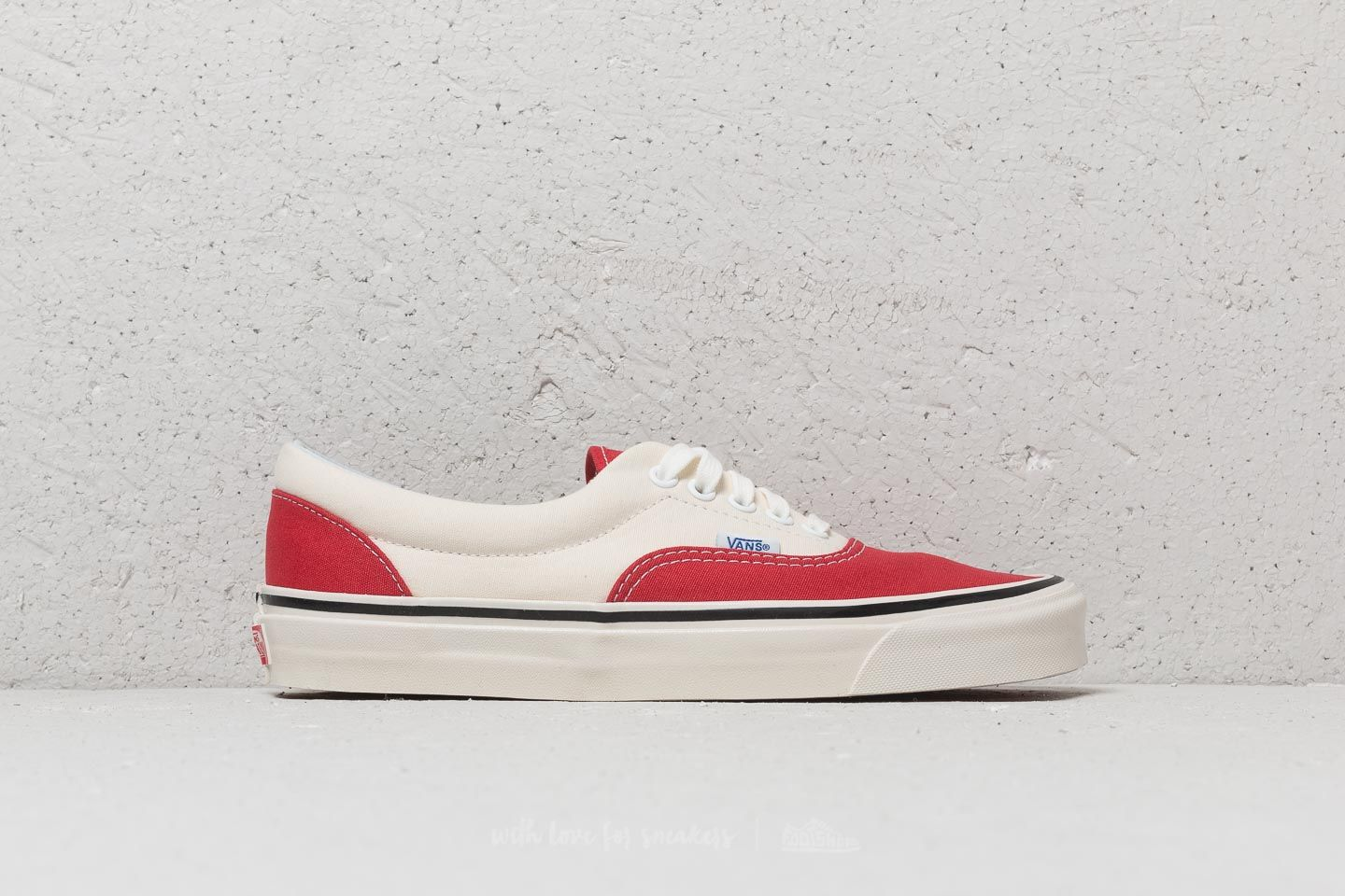 9dc965d080 Vans Era 95 DX (Anaheim Factory) Red  OG White at a great price