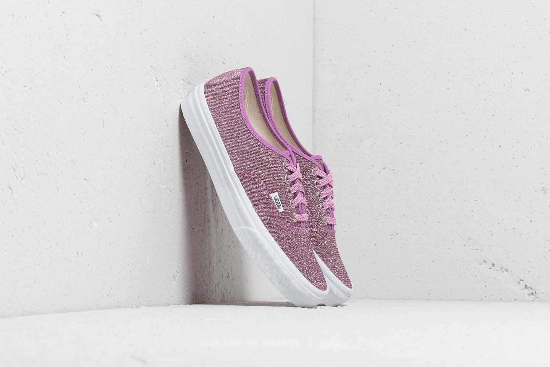 dc786e2952 Vans Authentic (Lurex Glitter) Pink  True White