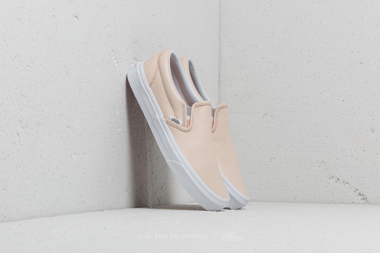 42f007877f1854 Vans Classic Slip-On (Lurex Gore) Sand Dollar