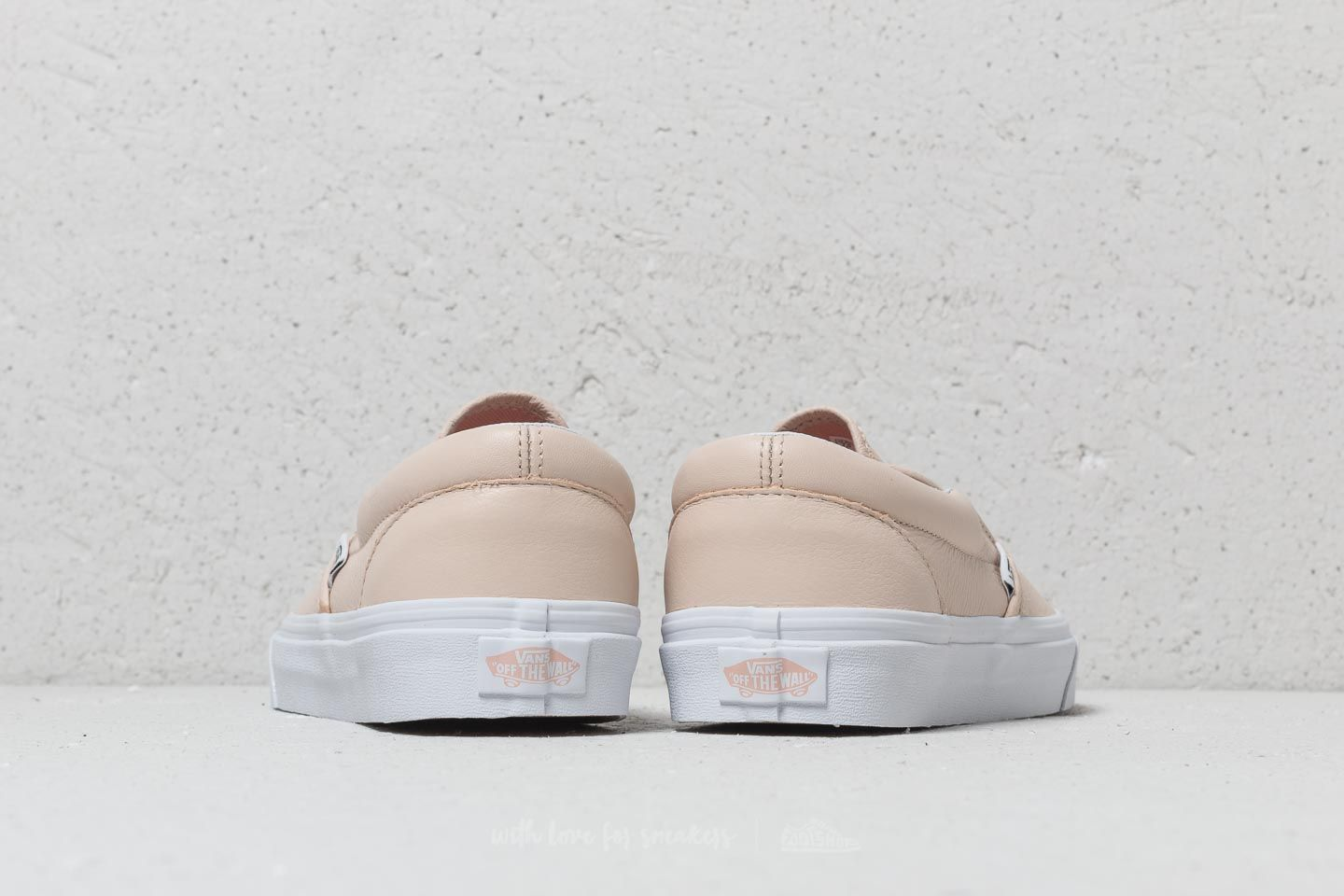 Vans Classic Slip On (Lurex Gore) Sand Dollar | Footshop
