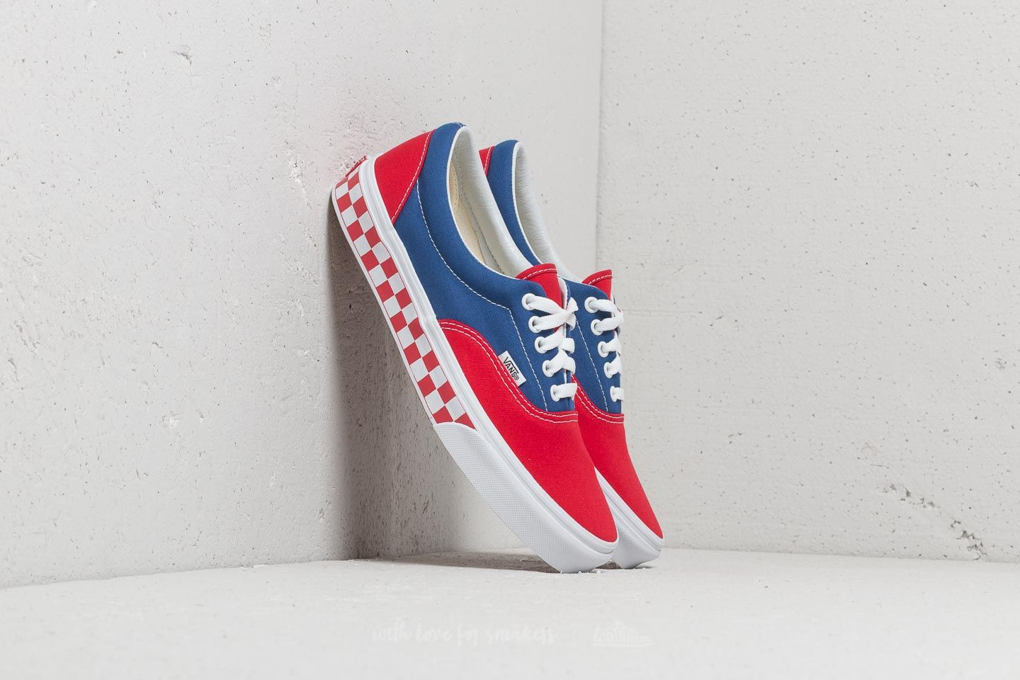 2531117406 Vans Era (BMX Checkerboard) True Blue  Red at a great price 76 €