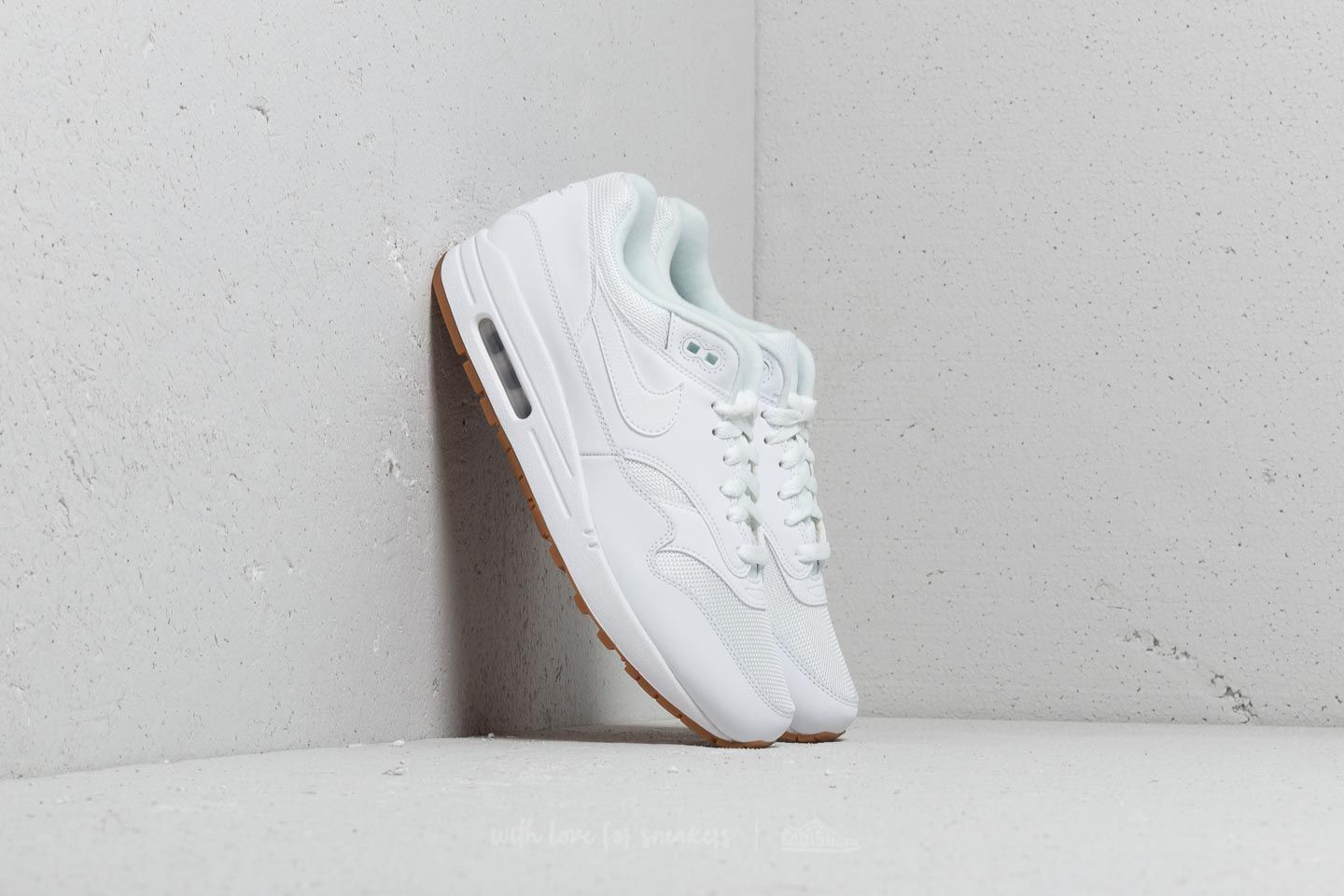 competitive price 7b0ae 0dd63 Nike Air Max 1 White  White-White at a great price £83 buy