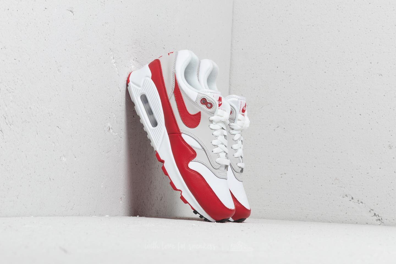 promo code 9e180 13ff6 Nike Air Max 90 1 W. White  University Red