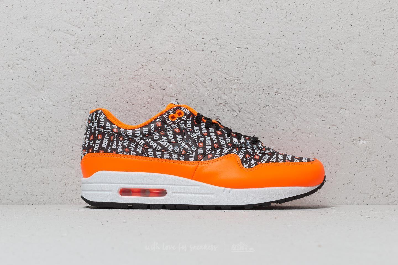 Nike Air Max 1 Premium BlackTotal Orange
