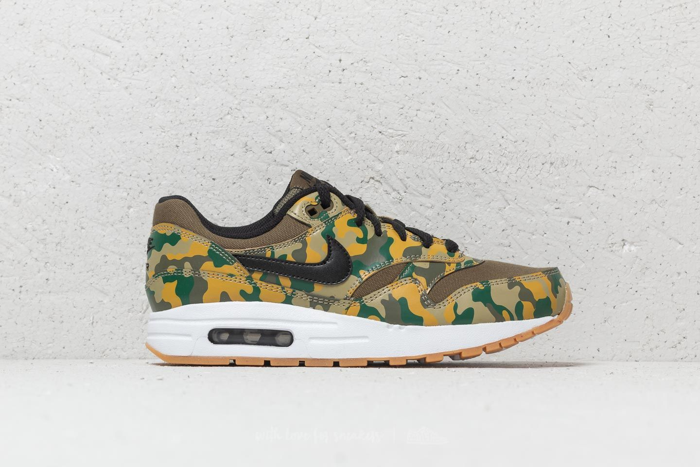 445d0d4a96c6 Nike Air Max 1 Print (GS) Medium Olive  Black at a great price