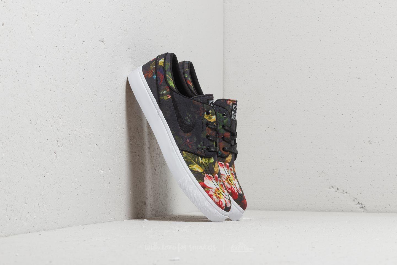 83a85aaafff Nike Zoom Stefan Janoski Canvas Multi-Color  Black-White