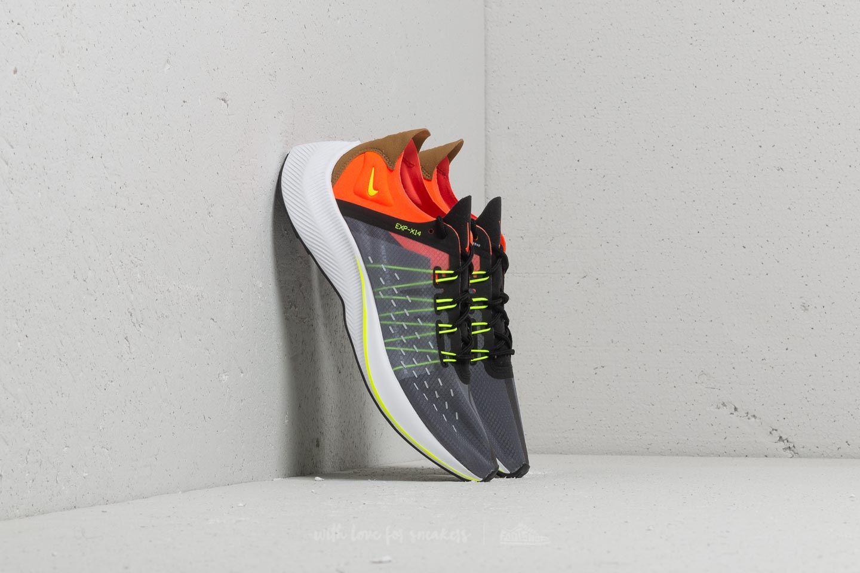 Dámské tenisky a boty Nike Exp-X14 (GS) Black/ Volt-Total Crimson