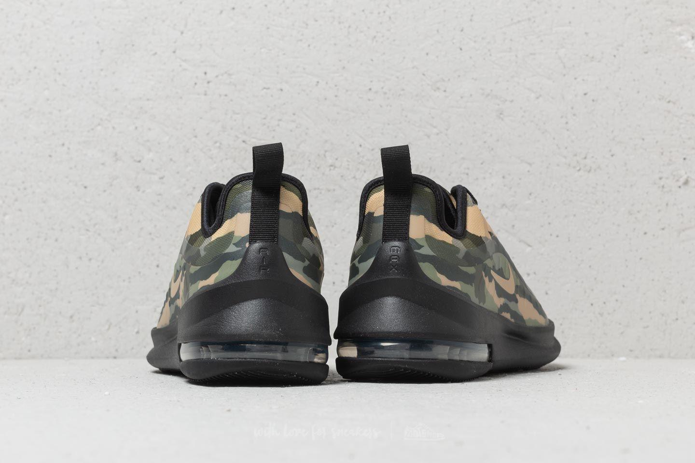 Nike Air Max Axis Print (GS) Black  Mushroom-Palm Green nagyszerű árakon 5aae21f7ca