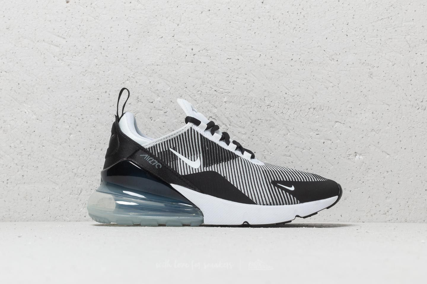 3aa575fa36a948 Nike Air Max 270 KJCRD (GS) Black  White-Cool Grey at a