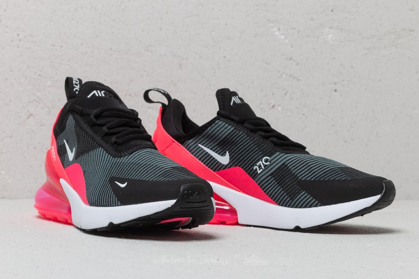 The kids model women gap Dis sneakers running shoes which Nike Air Max 270 Knit Jacquard GS Kie Ney AMAX 270 pink AR0302 003 adult can wear