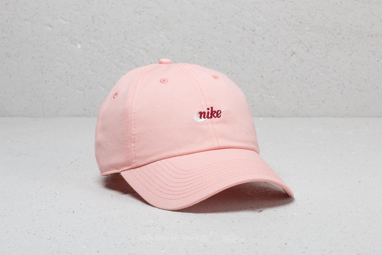 Nike Heritage 86 Script Cap Pink Red Crush  d5c2d602f75
