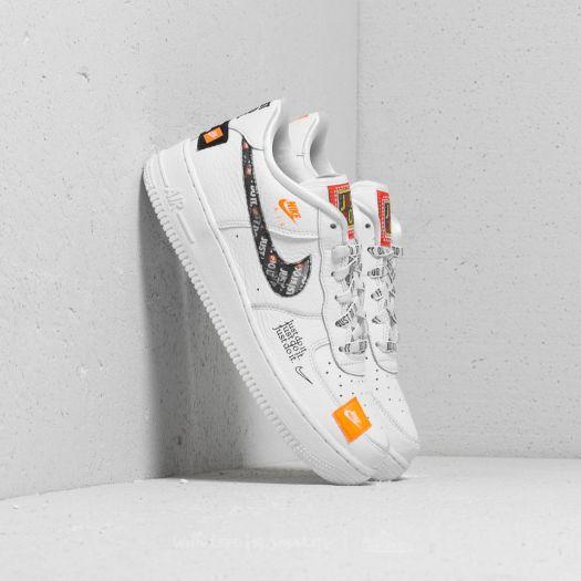 Nike Air Force 1 JDI Premium (GS) White  Total Orange-Black  faa000b6e65d