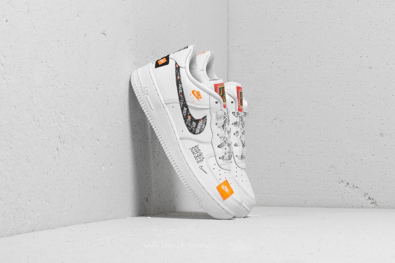 Nike Air Force 1 JDI Premium (GS) White  Total Orange-Black  68e6aa4794fe