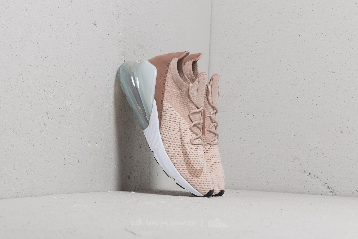 622dea4e32c0 Nike Wmns Air Max 270 Flyknit Guava Ice  Particle Beige