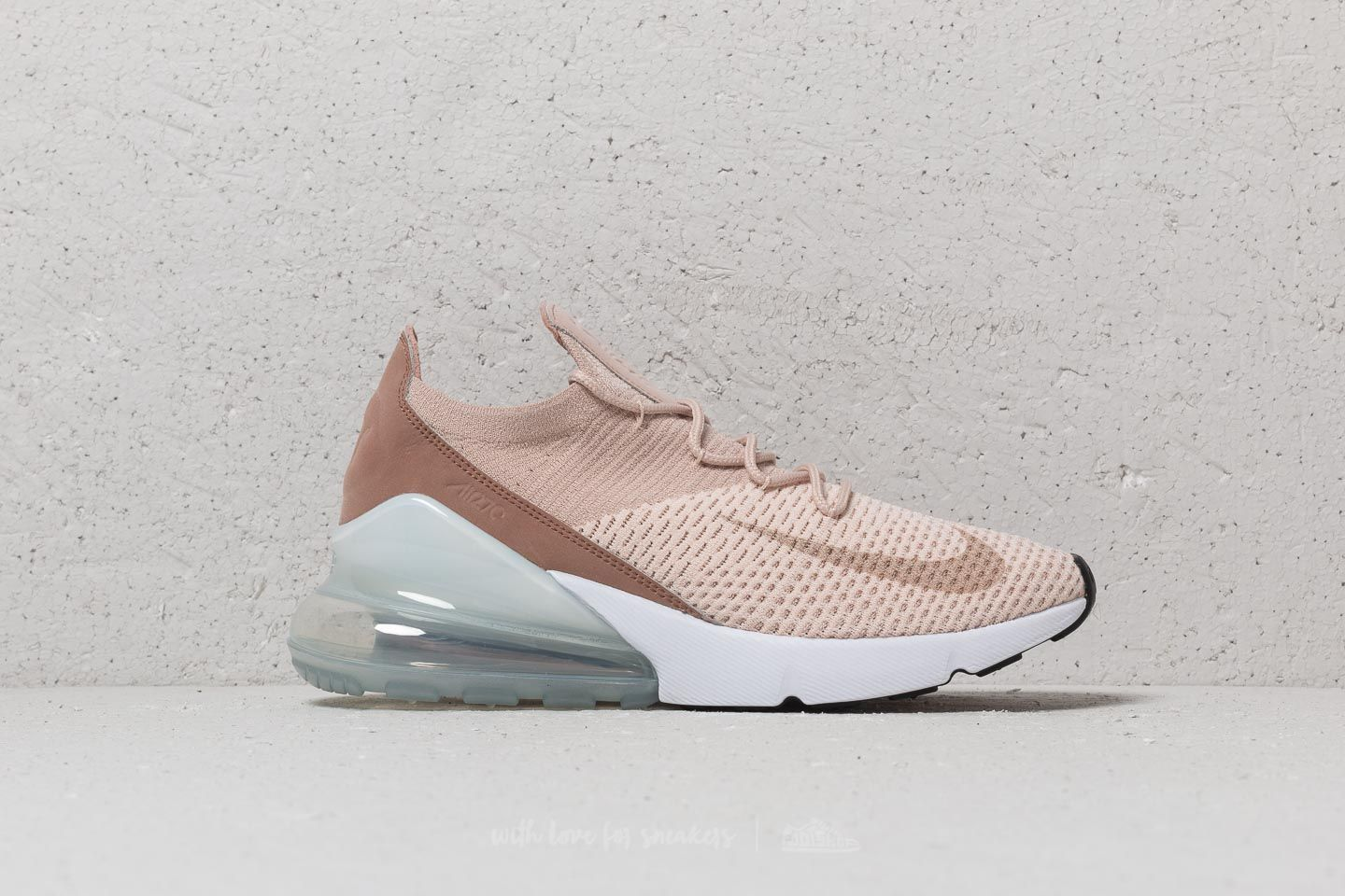 Nike Wmns Air Max 270 Flyknit Guava Ice  Particle Beige at a great price £ d46de0357