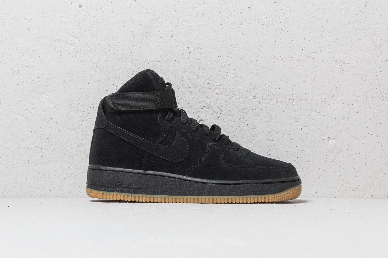 Nike Air Force 1 High LV8 (GS) Black Black Gum Light Brown   Footshop