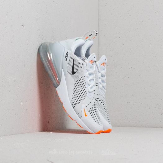 uk availability 8063a ab4a7 Nike Air Max 270 White/ Black-Total Orange | Footshop