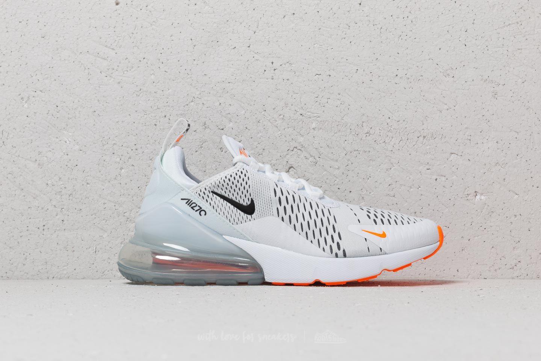 Air Max 270 BlackWhite Total Orange | Sneakers Nike Uomo