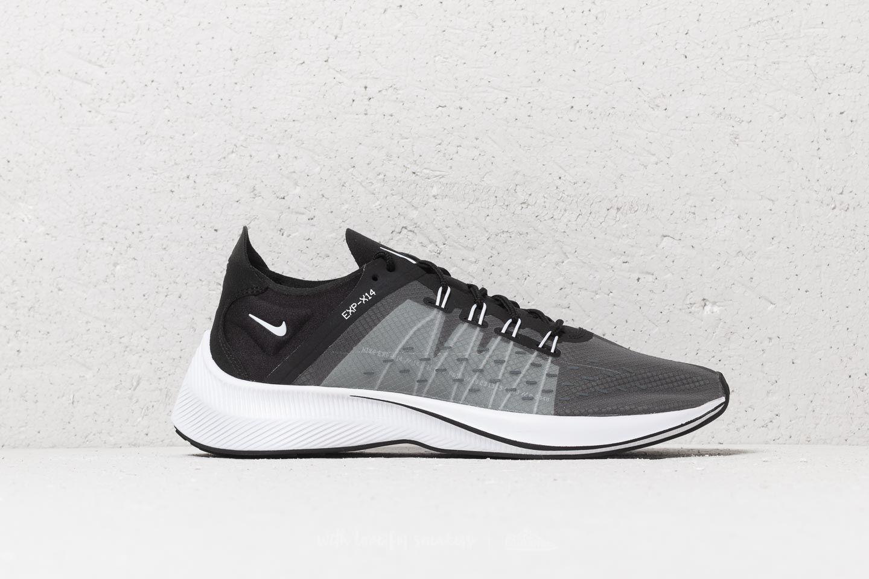 Nike Exp X14 (GS) Black Black White Wolf Grey   Footshop