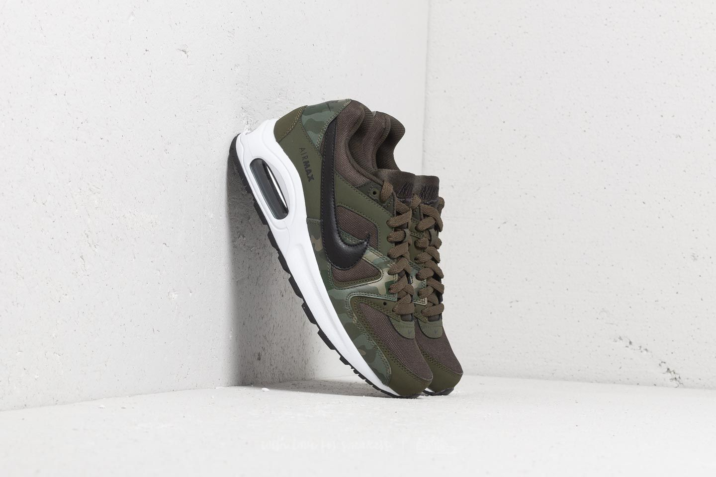Nike Air Max Command Flex BG Sequoia Black White | Footshop